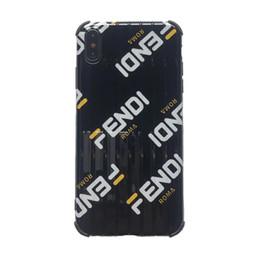 2019 iphone iphone design Um pedaço de luxo tpu phone case para iphone xs max xr 7 8 p tronco designer telefone de volta capa de moda cor e design iphone iphone design barato
