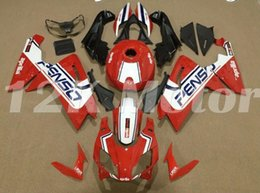 fairings for aprilia rs125 Promo Codes - Motorcycle New ABS Injection Mold Full Fairings Kit Fit For Aprilia RS125 06 07 08 09 10 11 2006-2011 bodywork set Custom Red White Blue