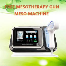 Máquina de mesoterapia portátil online-La máquina facial más nueva portátil del cuidado de piel del arma meso de la radiofrecuencia con el arma ligero de Mesotherapy de la terapia de la luz del LED