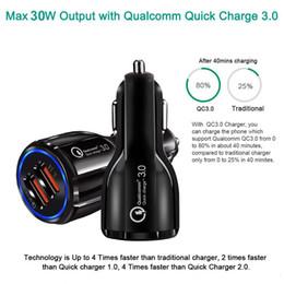 hyundai auto ladegerät Rabatt Bester Verkauf Auto-Ladegerät Handy-Auto-Ladegerät Dual USB QC3.0 Schneller intelligenter Ladeadapter 12V 3.1A für iPhone und Android Smartphone