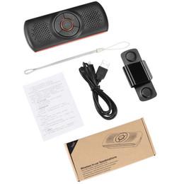 3w player en Ligne-Mains libres Bluetooth Car Kit MP3 Lecteur Bluetooth 4.2 EDR SIRI 3W Haut-parleur de voiture Bluetooth Kit mains libres TF de soutien Connect 2 Téléphones T826
