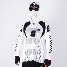 2019 original sportswear Daiwa de alta calidad de los hombres al aire libre ropa deportiva Original creativo diseño pesca Jersey humedad Wicking ropa con capucha única original sportswear baratos