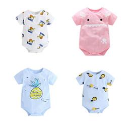 chineses onesies Desconto Bebê recém-nascido Meninos Meninas Romper Infantil Macacão Roupas Roupas Criança O Pescoço Pullover Romper Outfit New Hot
