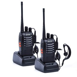 2019 tyt walkie talkie radio 1PC / 2ST Baofeng bf-888s Walkie Talkie Radio Station UHF 400-470MHz 16CH BF 888s Funk Talki walki BF 888s Tragbarer Transceiver