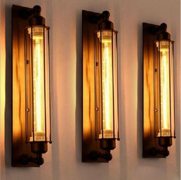 2019 настенные светильники промышленного стиля антиквариат старинные стиле лофт промышленного старинные Эдисон стены свет лампы бар resturent подвесные светильники люстра потолочный светильник дешево настенные светильники промышленного стиля