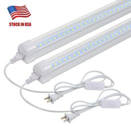 Luminaria LED de 2 pies, 14W 6500K enlazable Luz de tienda de utilidad de color blanco brillante, Banco de trabajo, debajo del gabinete, Luz para conectar y usar, paquete de 12 desde fabricantes