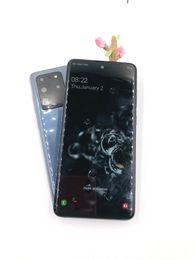 2019 разблокированные смартфоны 3g wifi 6.9 дюймовый удар-отверстие в GooPhone С20 ультра четырехъядерный Android показать 9.0 5г сигнала 1 ГБ+8 ГБ 8 Мп+5 Мп двойной SIM отпечатков пальцев разблокирована сотовых телефонов