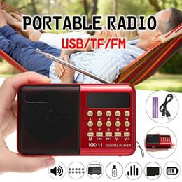 2019 altavoces antiguos Altavoz Joy For People Radio FM portátil Al aire libre Altavoz MP3 Soporte para tarjeta TF USB / Funciona con batería para personas mayores Happy rebajas altavoces antiguos