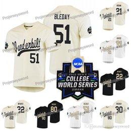 2019 в NCAA колледж Мировой серии Бейсбол Джерси Тайлер 21 коричневый 22 Джулиан Инфанте 51 Джей-Джей Bleday 80 Кумар коромысла пользовательских большие высокие трикотажные от