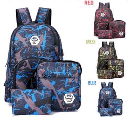 Ordens de viagem on-line-Top Melhor camuflagem ao ar livre mochila de viagem saco de computador Oxford Freio cadeia estudante saco de escola secundária cores Ao Ar Livre ordem da mistura frete grátis