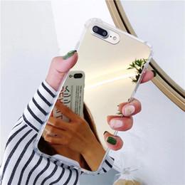 2019 cas de téléphone remax Cas de téléphone miroir pour Samsung Galaxy S10 Couverture souple antichoc TPU mignon pour Samsung Note 9 8 S8 S9 S10E Plus cas