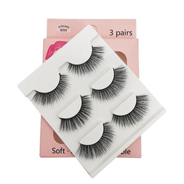 2019 Hot New premium cílios de pele própria faux mink eyelas moda cílios fábrica caixa de embalagem de luxo beleza 3D Mink cílios extensões conjunto de