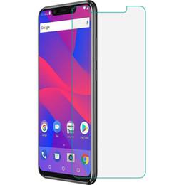 Lentes templados azul online-Protector de pantalla para el teléfono celular BLU VIVO Go Tempered Glass 9H Film protector de pantalla ultra delgado a prueba de explosiones de teléfonos celulares