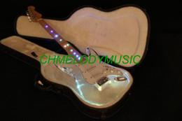 guitare électrique oem st Promotion Corps acrylique de qualité Lzeal de Chmelodymusic a mené la lumière sur la guitare électrique de guitare électrique de production adaptée aux besoins du client disponible de micros de SSS guitare