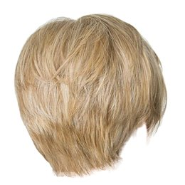 hair damage Coupons - Wigs Short Straight Synthetic Hair Full Wigs for Women Natural Looking Heat Men's wig Men's wig Natural Color Zero damage