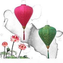 2019 sapatas da figura da forma Diamante Lanterna criativo chinês tradicional cetim Lanternas de seda para Ano Novo Party Decor artigos de alta qualidade multi cores 40bt C