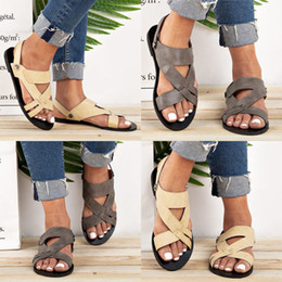 orteil semelle solide Promotion Été rondes Slip-on femmes couleur unie peu profonde Beach Walk Chaussures Sandales à bout ouvert Plateforme Mesdames Casual sandales