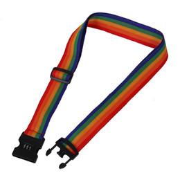 ceintures de bagages Promotion avec serrure codée NI5L Travel Luggage Bag Strap Baggage Backpack Ceinture