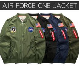 2019 einheitliche bänder Zarte Stickerei NASA Mann Jacken Designer Band Baseballuniform Mode Reißverschluss und Tasche schmücken Jacke WL günstig einheitliche bänder