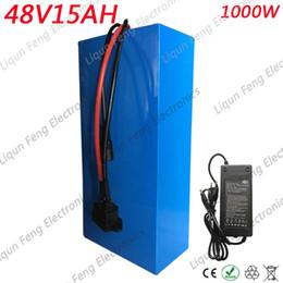 Batterie 48V 15AH Batterie au lithium-ion 30A BMS et 42V 2A Chargeur Taxe de douane gratuite 48V 15AH 1000W Ebike E-scooter ? partir de fabricateur