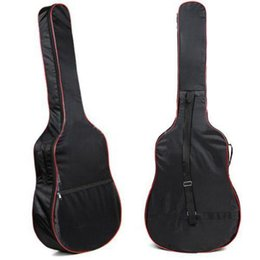 2019 guitarra clásica Al por mayor- 2016 de alta calidad de 4138 pulgadas de guitarra acústica clásica bolsa de transporte 5mm correas de hombro unisex Gitar bolsas bolsas bajas rebajas guitarra clásica