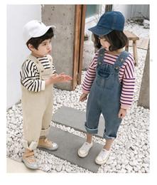 Tute bambino 2 colori neonate ragazzi carino senza maniche solido tuta per bambini tute di cotone bambino neonato ragazzo abiti firmati DHL FJ171 da