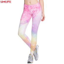 Pantalon de yoga haut élastique pour femmes Doux et confortable Rose Digital Print Gym Fitness Legging Collant de course Collant de sport Pantalon de compression ? partir de fabricateur