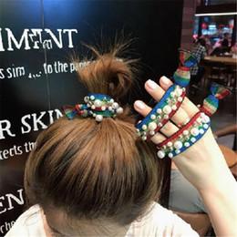 2019 perla fasce all'ingrosso Olaru elegante coreano design leopardo simulato perla fascia moda bella geometrica hairwear gioielli all'ingrosso 1pcs sconti perla fasce all'ingrosso