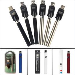 Vape pen vaporizer online-Vorheizen der Batterie Vorheizen der Vape-Batterie 350mAh Vape Pen Blisterpackung mit variabler Spannung 4,1-3,9-3,7 V 510 Gewinde für dicken Keramikverdampfer