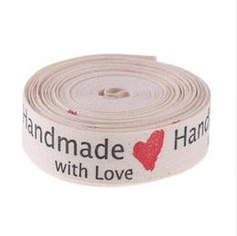 2019 impresión de tarjetas de saludos 5 Patios de amor Patrón de prendas de vestir Ropa de la cinta Etiquetas hechas a mano Etiquetas de bricolaje Craft Bowknot Jeans Bolsas Zapatos Kits de costura