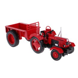 Jouets éducatifs vintage en Ligne-1/18 alliage simulation vintage ferme tracteur véhicule modèle de voiture jouets éducatifs cadeau d'anniversaire pour enfants enfants en bas âge