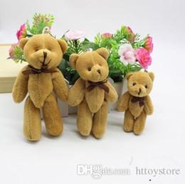 2019 deadpool de pelúcia 8/11 centímetros Teddy Bear Plush Mini urso pequeno Bichos de pelúcia brinquedos de pelúcia Pingentes Bouquet 6color