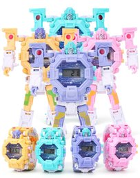 2019 as meninas assistem novo brinquedo do menino deformação relógio deformação novas infantil assistir display eletrônico criativo transformadores crianças deformação menina relógio desconto as meninas assistem novo