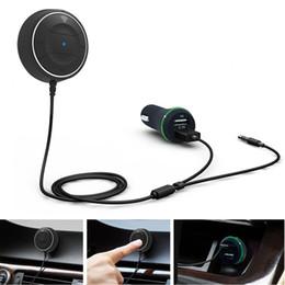 chargeur nfc Promotion Nouveau kit voiture mains libres Bluetooth avec fonction NFC Aux récepteur musique haut-parleur chargeur USB CSL2018