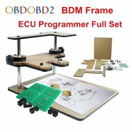2019 programador bdm Los adaptadores LED BDM Frame 22 funcionan para KESS V2 KTAG BDM 100 ECU Programmer y Fgtech Frame Adapter Car ECU Programmer Tool programador bdm baratos