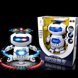 Çocuk erkek kız için 2019 Moda oyuncaklar Elektronik Yürüyüş Dans Akıllı Uzay Robot Astronot Çocuk Müzik Işık Oyuncaklar nereden