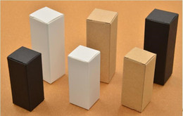 derringer rda Desconto 10 ml20 ml 30 ml 50 ml 100 ml branco preto caixas de papel kraft para garrafas de óleo essencial conta-gotas frasco de presente caixa de embalagem de impressão logotipo