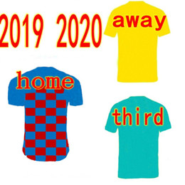 2019 2020 fc barcelona kinder trikots zuhause weg dritter männer fußball tops kurze fußballuniformen individueller name und nummer von Fabrikanten