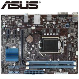 Orijinal anakart ASUS H61M-E LGA 1155 DDR3 panoları USB2.0 22/32nm CPU H61 Masaüstü anakart Ücretsiz kargo cheap asus desktops nereden asus masaüstü bilgisayarları tedarikçiler