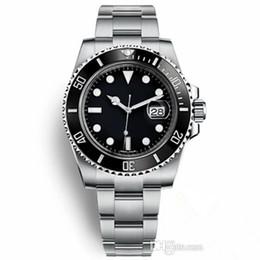 2019 los mejores relojes de diseño para hombre Top Movimiento de lujo del reloj mecánico automático 2813 116610 zafiro de cristal relojes de diseño de cerámica Bisel Glidelock hombres para hombre Relojes de pulsera rebajas los mejores relojes de diseño para hombre