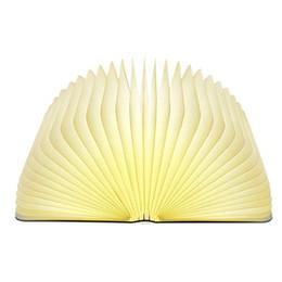 Lampe de secours couleur créative LED livre lumière de nuit lumière charge USB livre lampe pliante nouvelle lampe de table exotique cadeau de vacances 5 couleurs ? partir de fabricateur