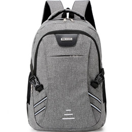 wholesale solid color backpacks Coupons - Hillsionly Men And Women Large Capacity Leisure Bags Fashion solid color Shoulders Bag Daily Travel Backpacks bolsa feminina
