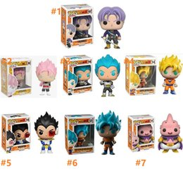 2020 Funko pop Ufficiale Dragon Ball Z Resurrezione F - Super Saiyan Vegeta Dio in vinile da collezione Action Figure Model Toy da