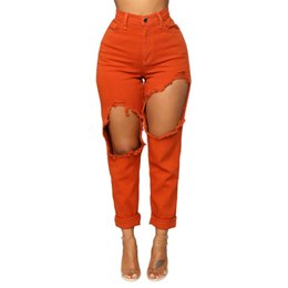 Moda mujer pantalones vaqueros elásticos de cintura alta estiramiento delgado pantalones lápiz sexy z0313 desde fabricantes