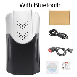 Cdp pro bluetooth online-Scanner NewDiagnostic Strumento Per CDP TCS CDP pro OBD2 Bluetooth per auto Camion strumento di diagnostica Encoder Reader