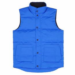 Casacos de moda de inverno on-line-Goose famosa marca de Down Designer Jacket Inverno Homens Mulheres Alta Qualidade Parka Jacket Moda Mens Inverno Vest Tamanho S-2XL