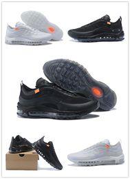 newest 60d52 fb353 chaussures dix Promotion 2018 Pas Cher Vente 97 X Ice Blue Ten 10  Chaussures de Course