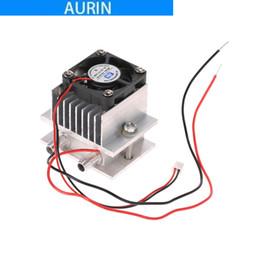 asus e motherboards Desconto Kit DIY Thermoelectric Peltier Cooler Módulo de Condução de Refrigeração Refrigeração Módulo de Condução + Fan + TEC1-12706
