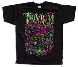 Poster in metallo nero online-Trivium, American Heavy Metal Band, Poster T-shirt (nero) S - 5xl