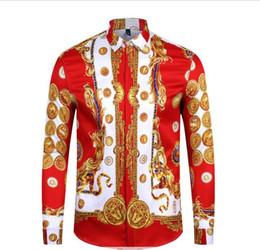 Impressão francesa 2019 homens camisa harajuku moda lazer camisa homem medusa 2 xl tigre preto leopardo fantasia cultivar a moralidade camisa de Fornecedores de camisa térmica vermelha